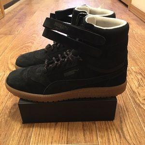 [Puma] Sky II Hi Winterised Suede Men's Shoes NEW